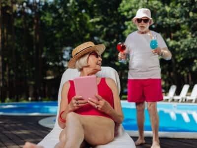 Disfrutar del verano con nuestros mayores